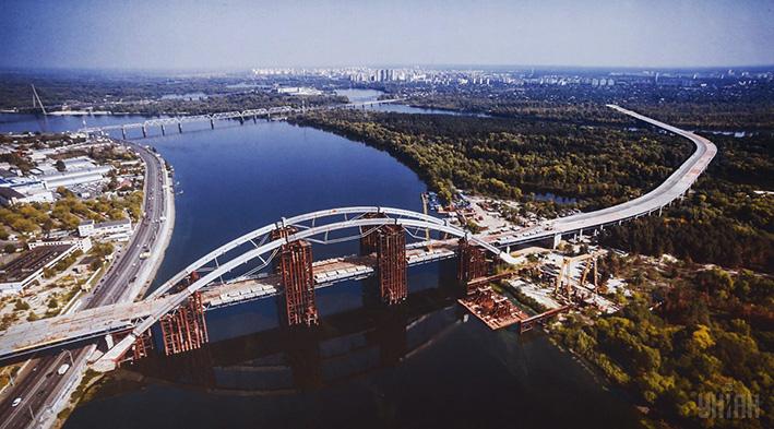 Київ виділив 402 млн. грн на будівництво Подільсько-Воскресенського мосту 4