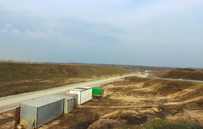 У Дніпрі почалося будівництво другої черги об'їзної дороги 1