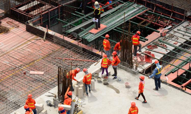 В Украине увеличились объемы строительства 1