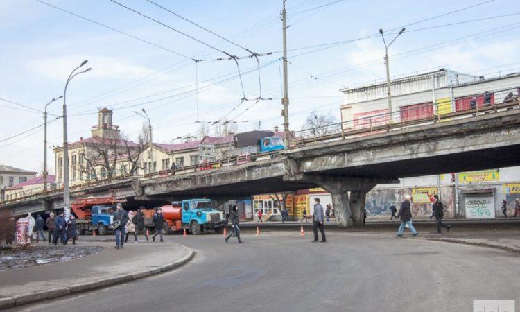 Летом начнут перестраивать Шулявский путепровод в Киеве 1
