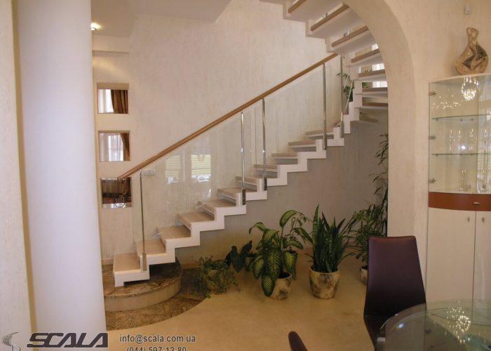 Сходи для житлових, офісних і промислових об'єктів 5