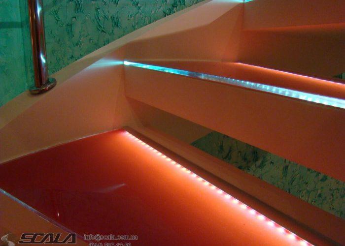 Сходи для житлових, офісних і промислових об'єктів 12