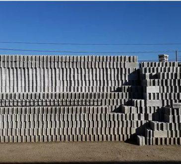 самоклеючий бетонний блок