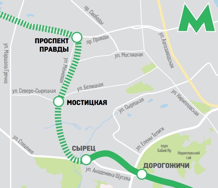 В Киеве утвердили проект строительства метро на Виноградарь 7