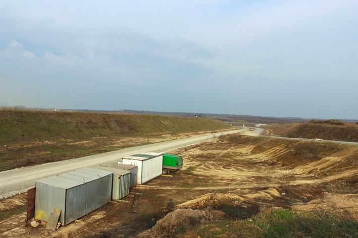 В Днепре началось строительство второй очереди объездной дороги 7