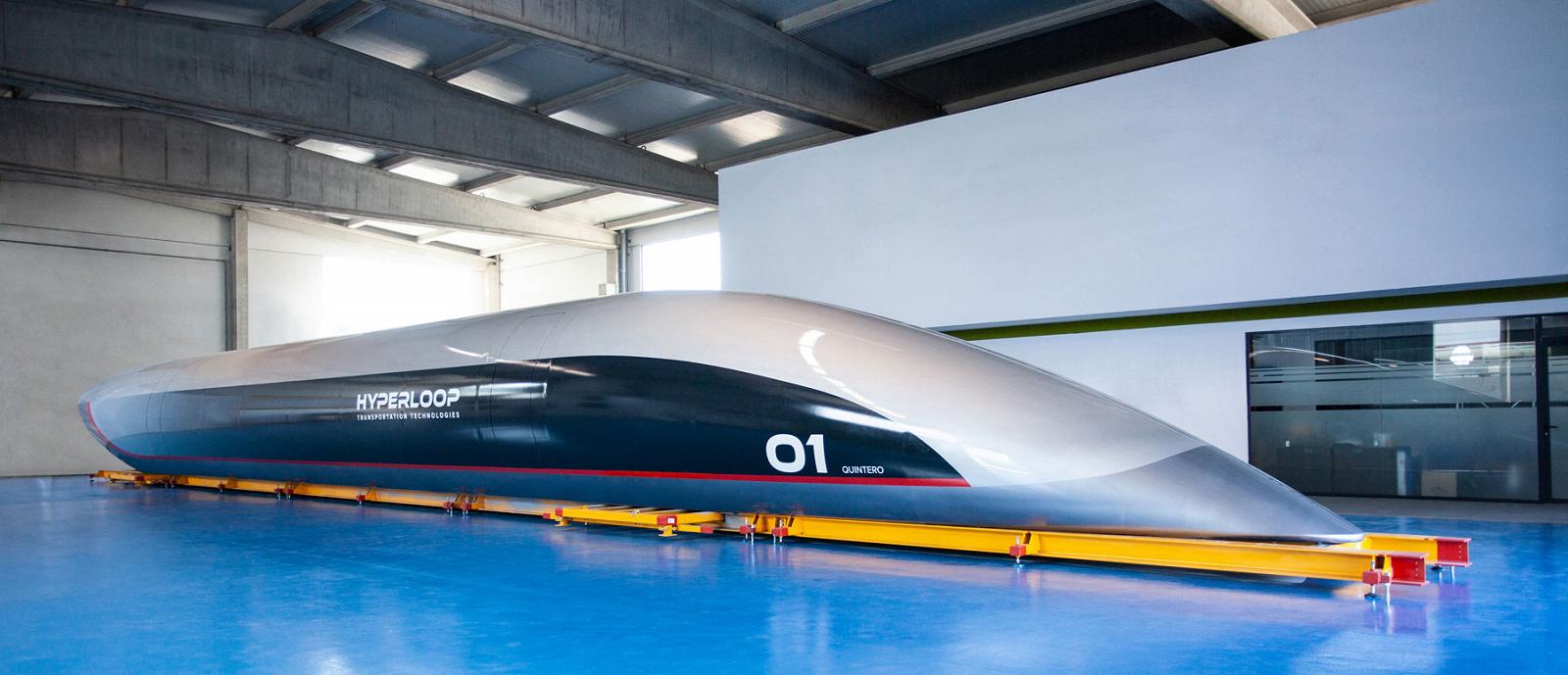 Перша лінія Hyperloop відкриється в 2022 році 4