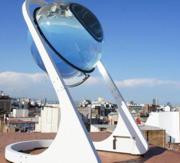 Rawlemon генерує електрику від місячного світла за допомогою скляної кульки 11