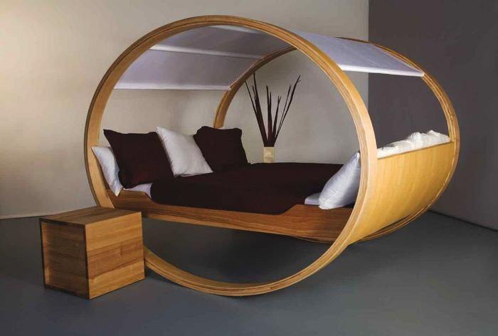 Ліжко – оригінальні рішення