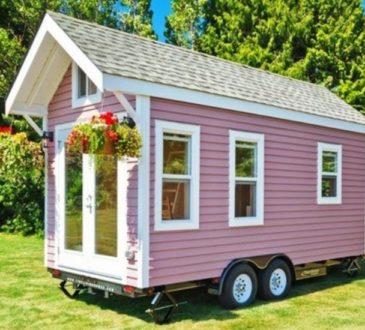 «Poco Pink»: дача на колесах 5