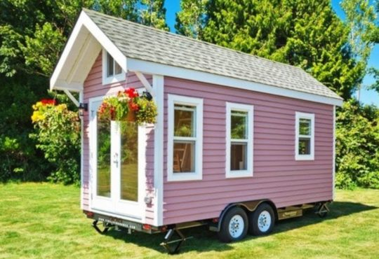 «Poco Pink»: дача на колесах 6
