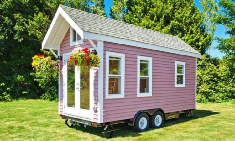 «Poco Pink»: дача на колесах 1