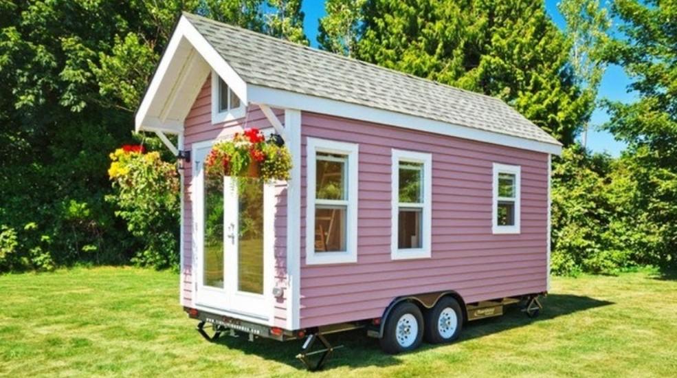 «Poco Pink»: дача на колесах 7