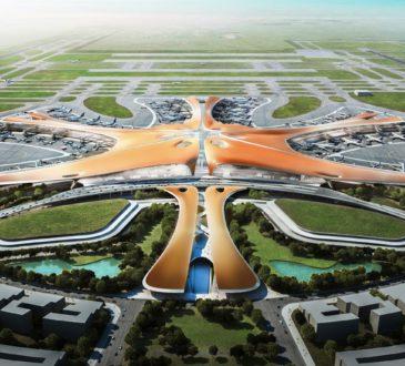 В Пекине построен огромный аэропорт с наибольшим мировым терминалом 4