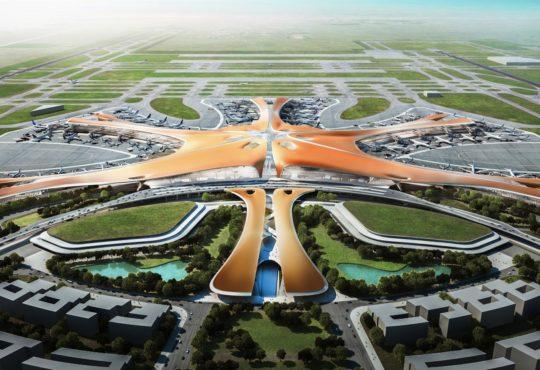 У Пекіні побудовано величезний аеропорт з найбільшим світовим терміналом 3