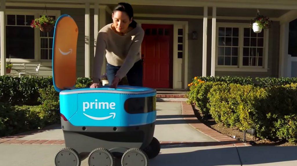 Amazon: роботы-доставщики и домашние помощники