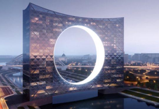 Найбільш незвичайний міст в світі з'явиться в колишній Астані 2