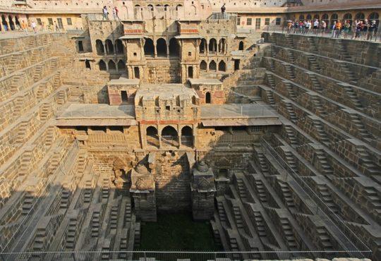 Секреты архитектуры Индии: подземные колодцы 5