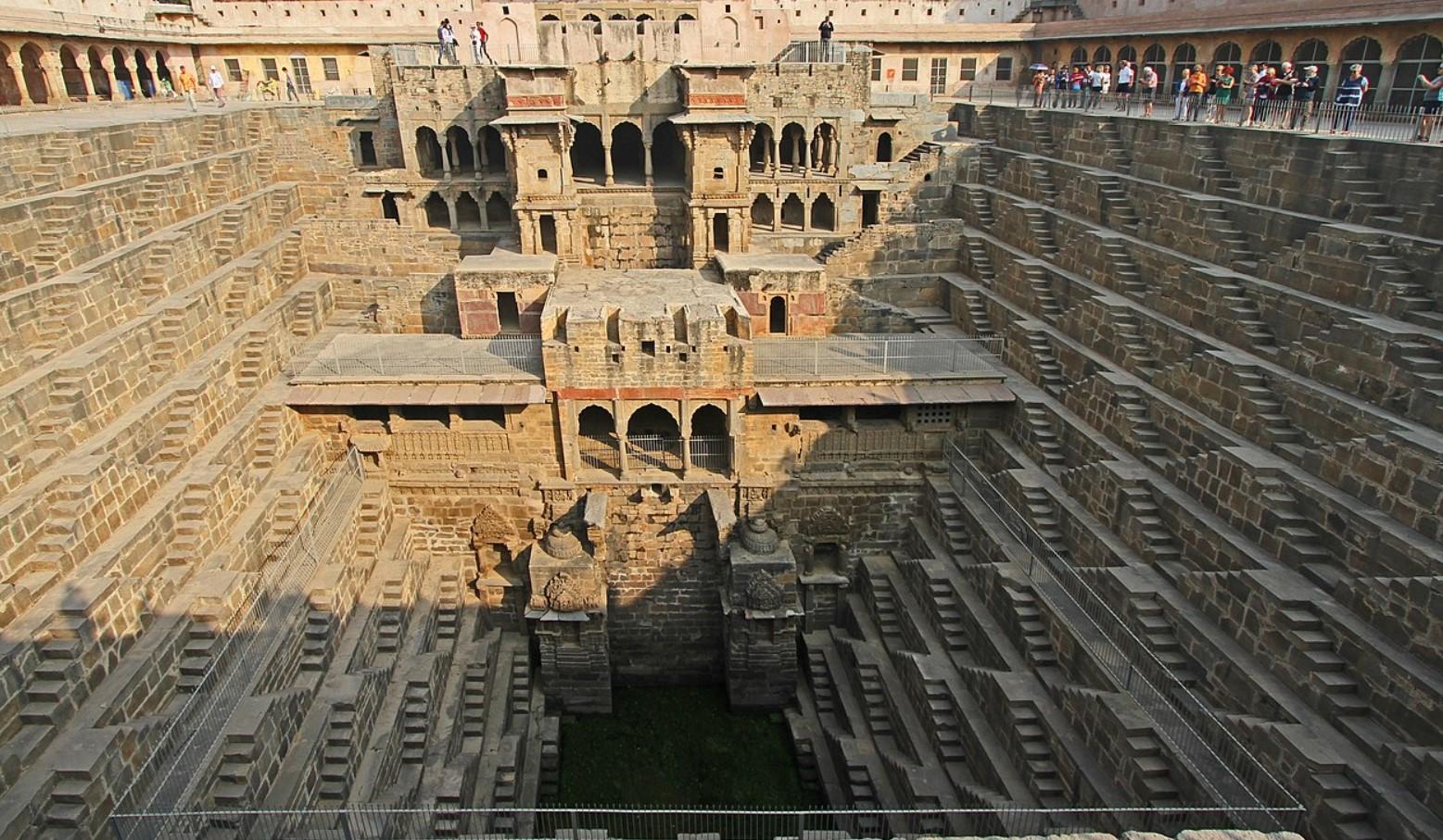 Секреты архитектуры Индии: подземные колодцы 1