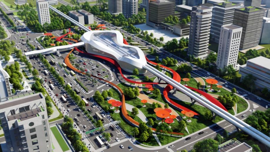 Разработан прототип терминала для Virgin Hyperloop One в Мумбаи