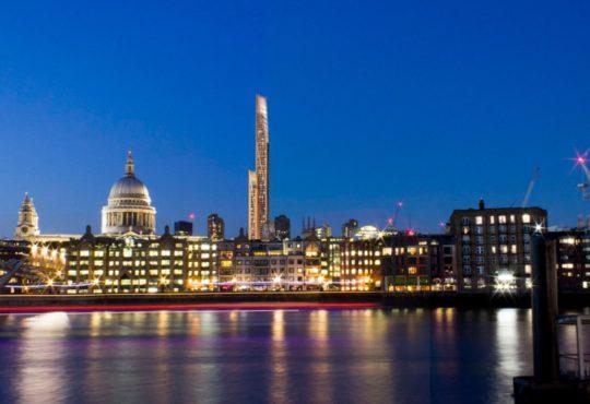 Деревянный небоскреб появится в столице Великобритании 3
