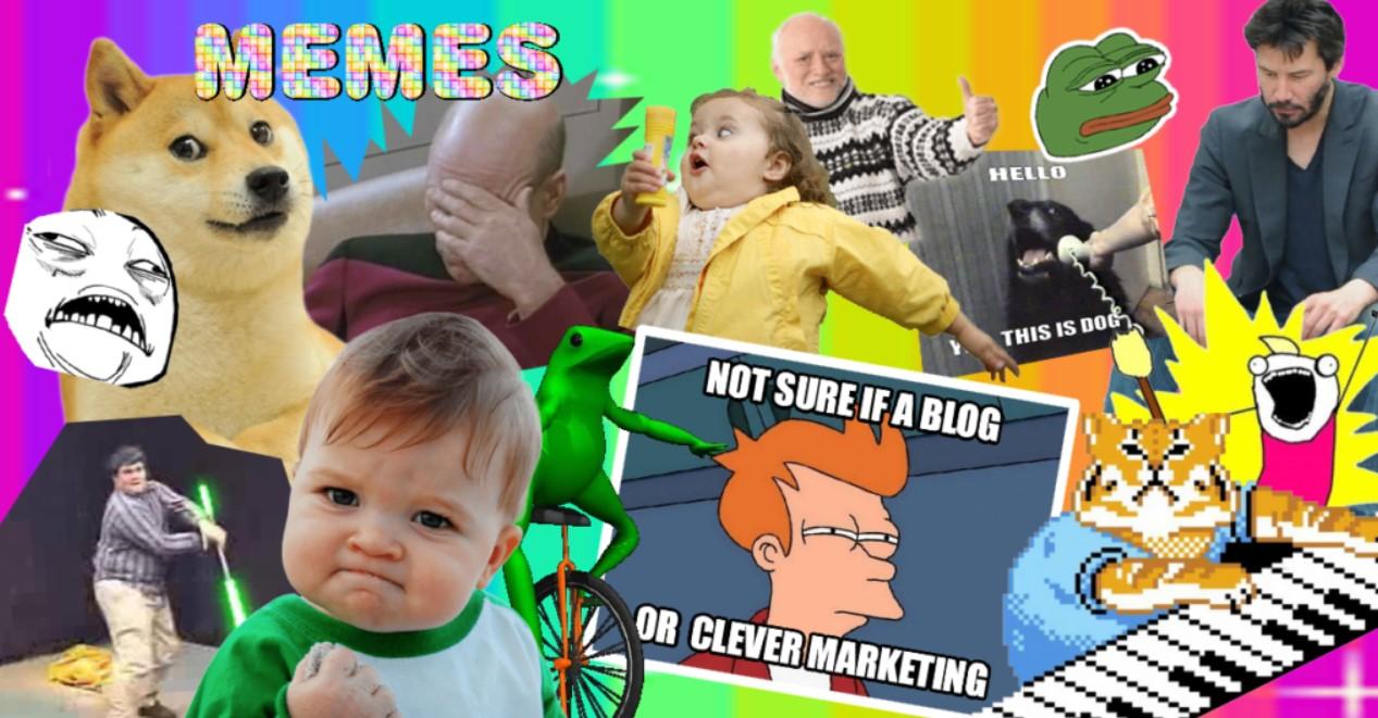 Мемы в маркетинге (мем-джекинг). Меми в маркетингу (мем-джекінг)