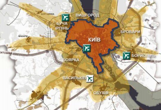 Генплан Киева (Генплан Києва)