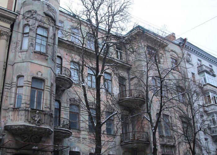 Аварийные исторические здания Киева