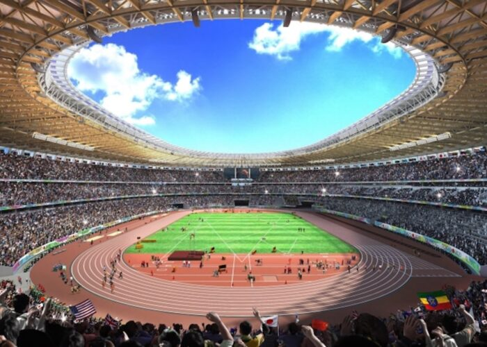 Kengo Kuma's Tokyo 2020 Olympics stadium
