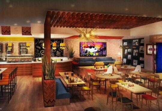 Новая концепция дизайна кафе от McBride 1