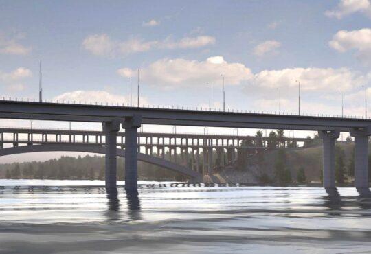 Мосты в Запорожье