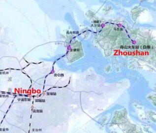 Скоростная железная дорога в Китае (Швидкісна залізниця у Китаї)