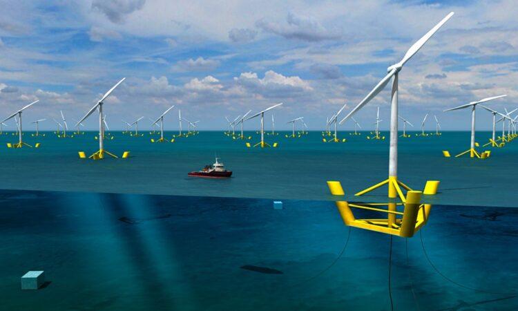 Ветрогенератор промышленный морской