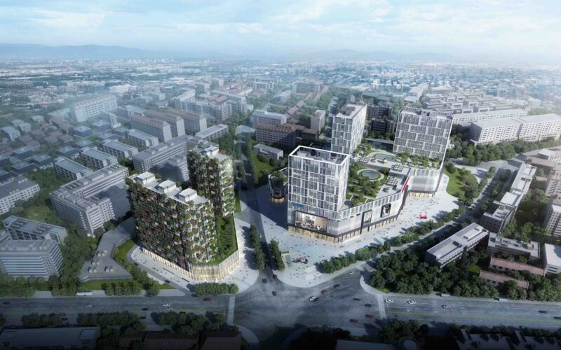 Easyhome Huanggang Vertical Forest City Complex