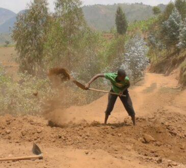 Мотыгой и лопатой: руандец за 3 года вручную построил дорогу 2