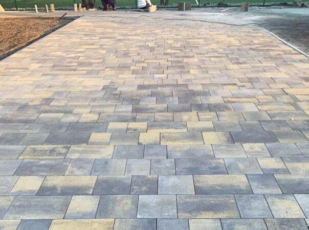 Тротуарная плитка «Модерн» (цвет — колор-микс «марроне»)