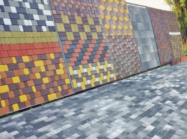 Тротуарная плитка и брусчатка производства завода «Марса»
