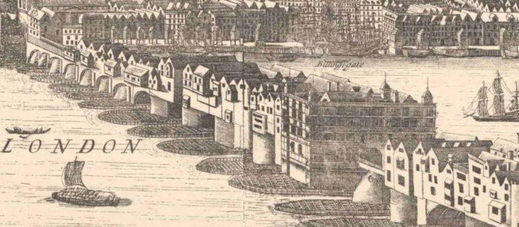Старый лондонский мост (гравюра)