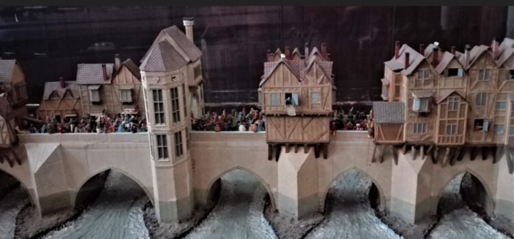 Старий лондонський міст (макет)