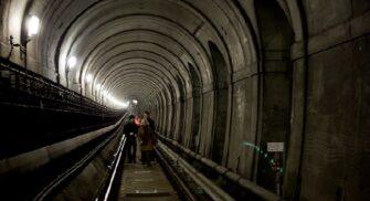 Тоннель Брюнеля в наши дни (часть метро)