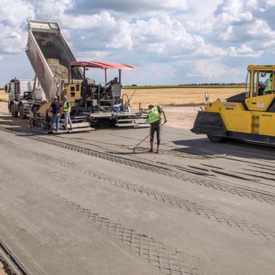 Цементобетонные дороги. Новости строительства. Цементобетонні дороги. Новини будівництва