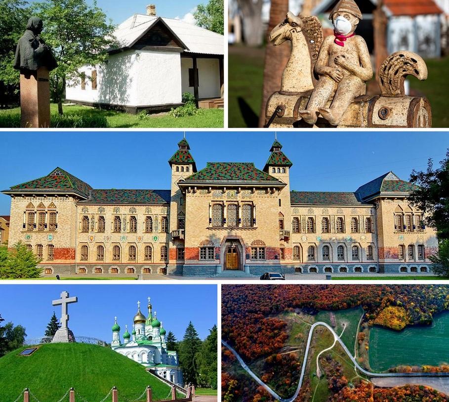 Туристические магниты Украины. Туристичні магніти України