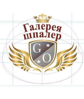 Логотип. Галерея Обоев. Галерея Шпалер.