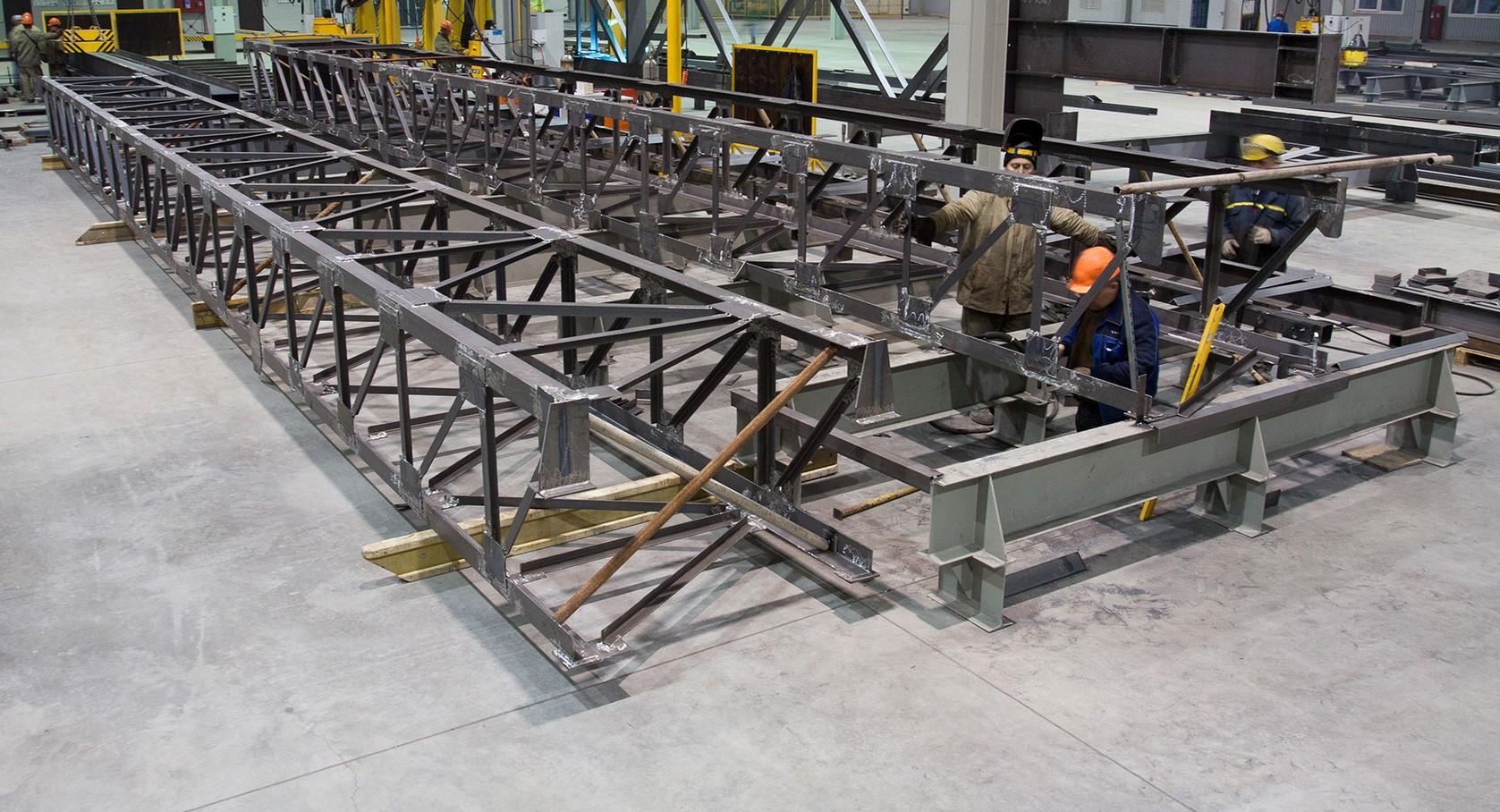 Изготовление металлоконструкций. Виготовлення металоконструкцій