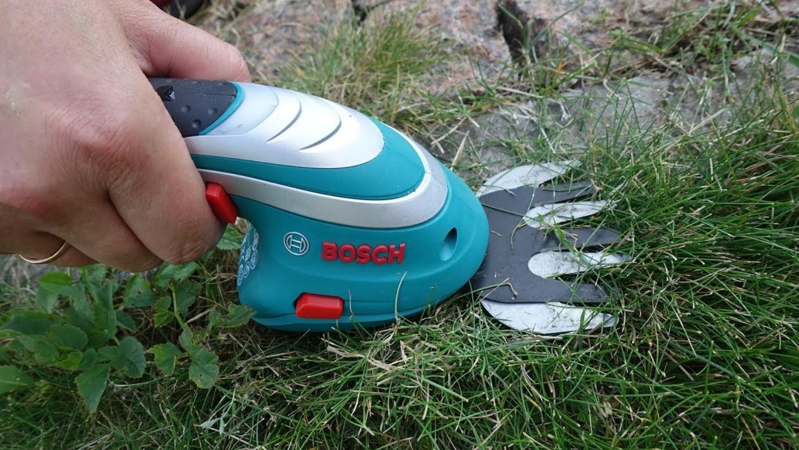 Ножницы для стрижки травы аккумуляторные