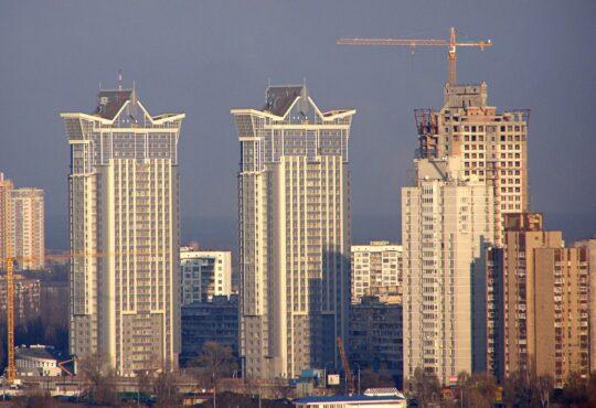 Высотки Киева. Висотки Києва