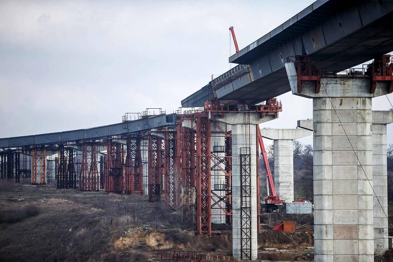 Запорожский мост. Запорізький міст