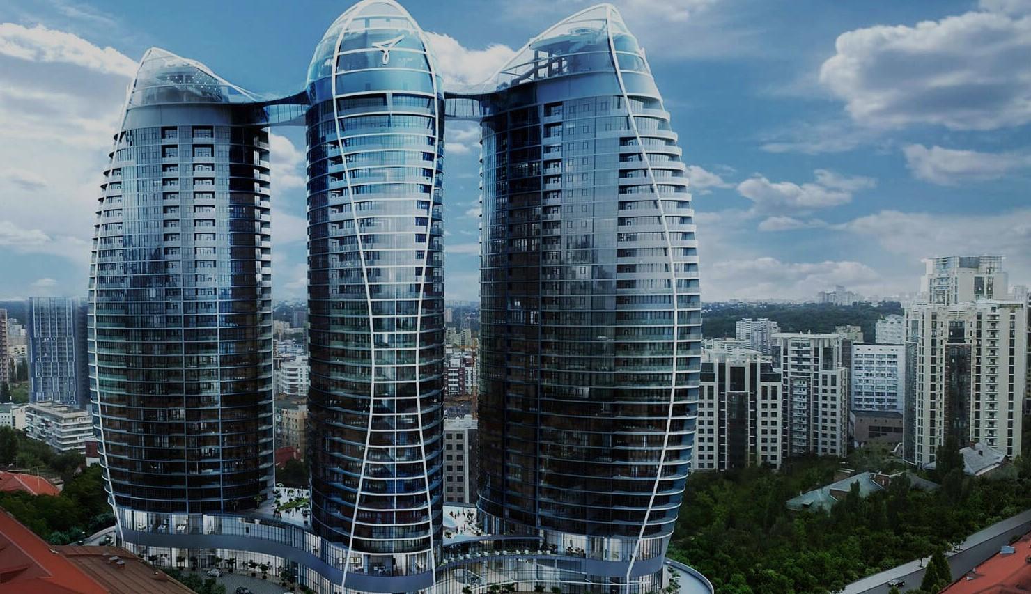 Башни Taryan Towers. Вежі Taryan Towers