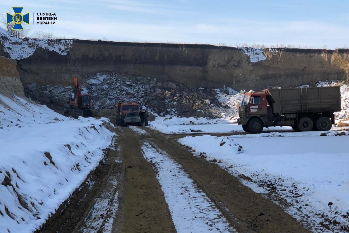 Добыча песка в Одесской области. Видобуток піску в Одеській області