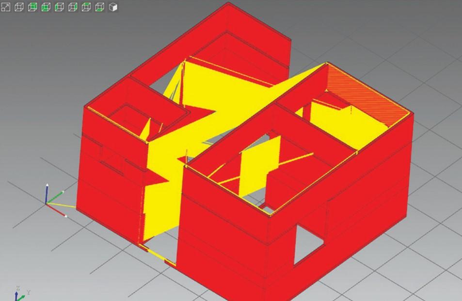 3D дом в Канчипураме, Индия. 3D будинок в Канчіпурамі, Індія