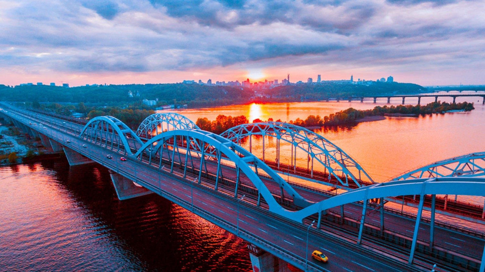 Дарницкий мост. Дарницький міст